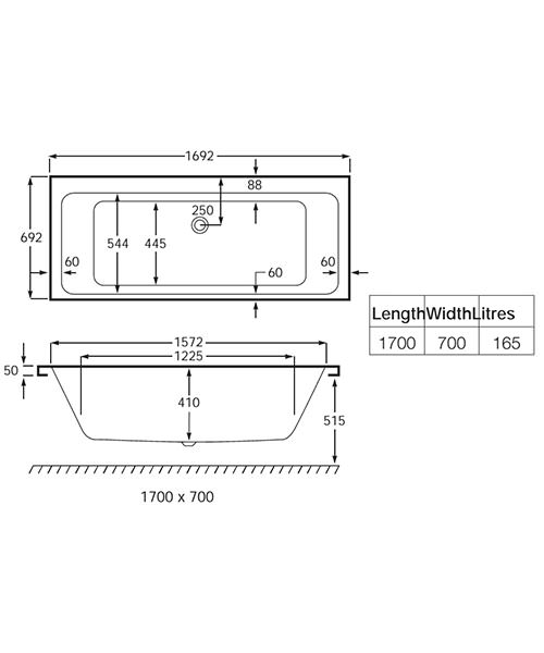 Technical drawing 17841 / 024722000