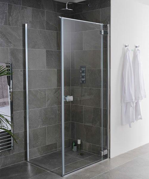 Lakes Island Grenada Frameless Hinge Shower Door 800 x 2000