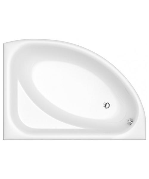Trojan Florida White Left Handed Offset Bath 1500 x 1030mm - NTH