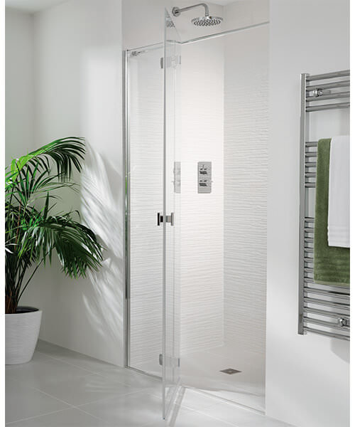 Lakes Island Martinique 1600 x 2000mm Shower Door And Hinge Panel