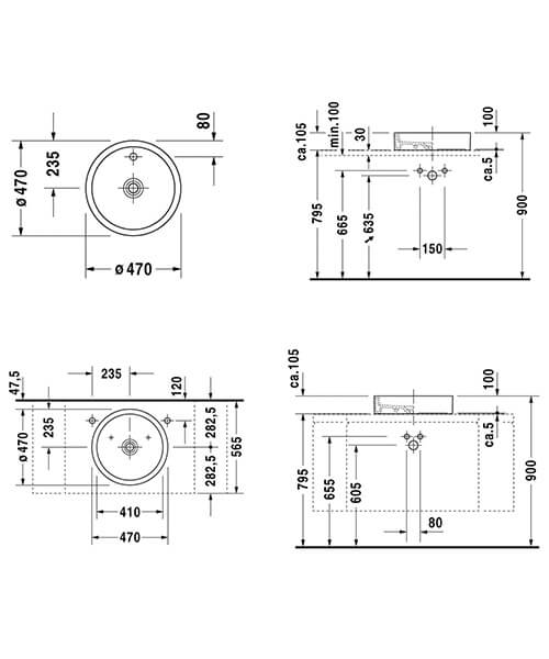Technical drawing EX-58064 / 0386470028