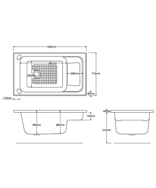 Technical drawing 15343 / B718