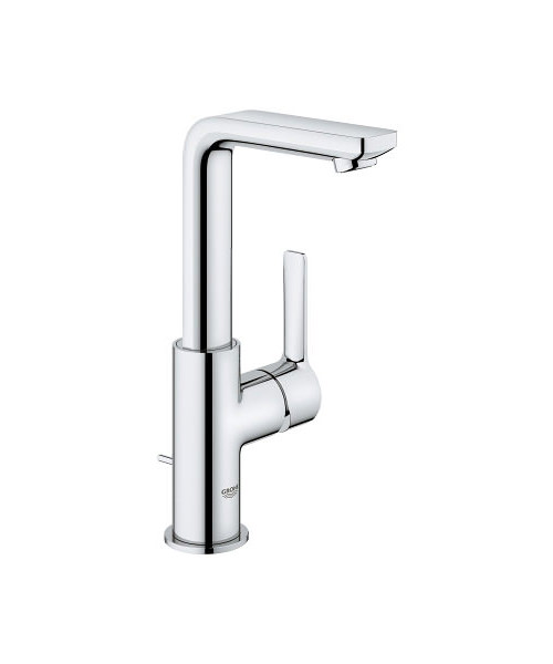 Grohe Lineare 1-2 inch Single Lever Basin Mixer Tap With Pop-Up Waste