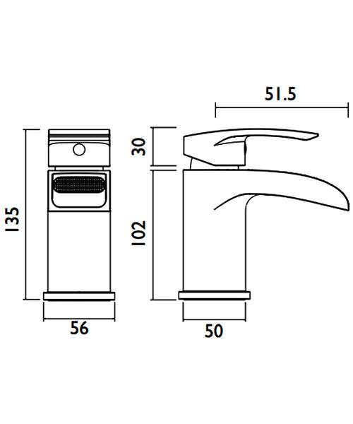 Technical drawing 54766 / GWF BASNW C