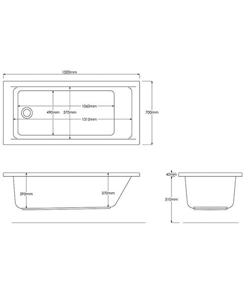 Technical drawing 17194 / B1315