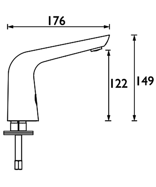 Technical drawing 54751 / IRBS4-CP