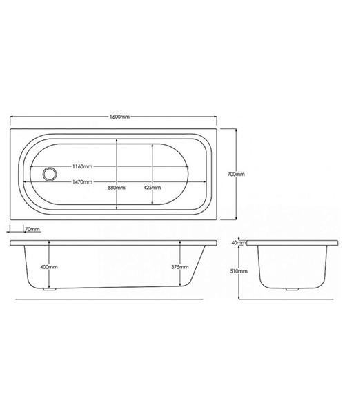 Technical drawing 17180 / B739