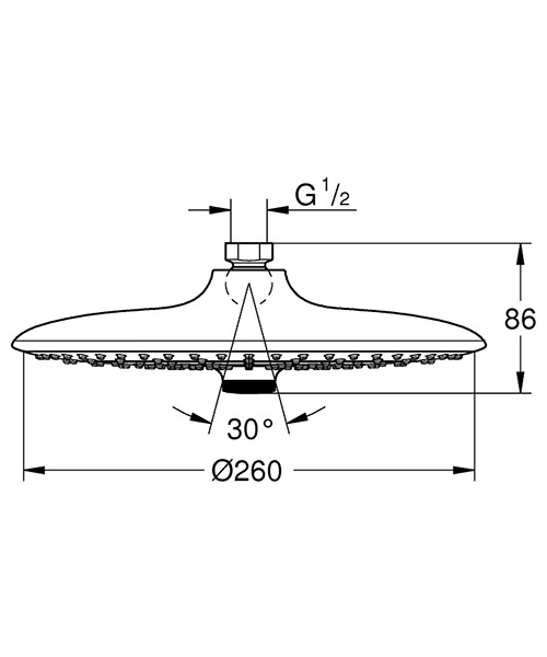 Technical drawing 54470 / 26455000