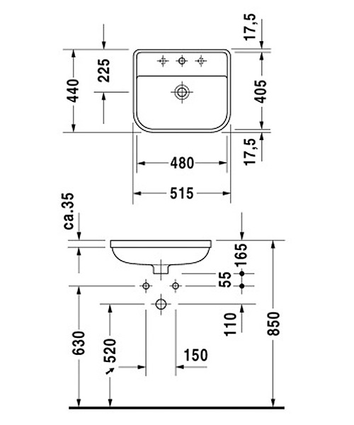 Technical drawing EX-53598 / 0441480000