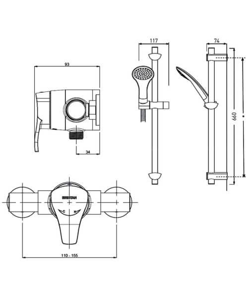 Technical drawing 4878 / CAP2 SHXAR C