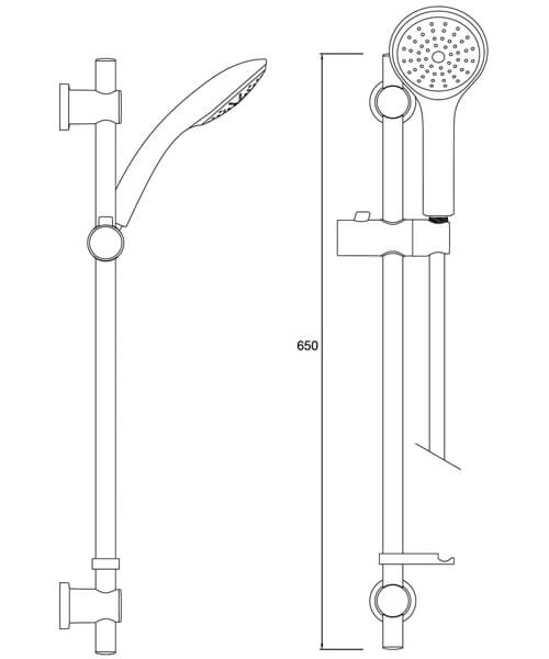 Technical drawing 39513 / CAS KIT02 C