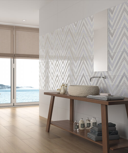 Dune Milena 29.5 x 90.1cm Ceramic Wall Tiles