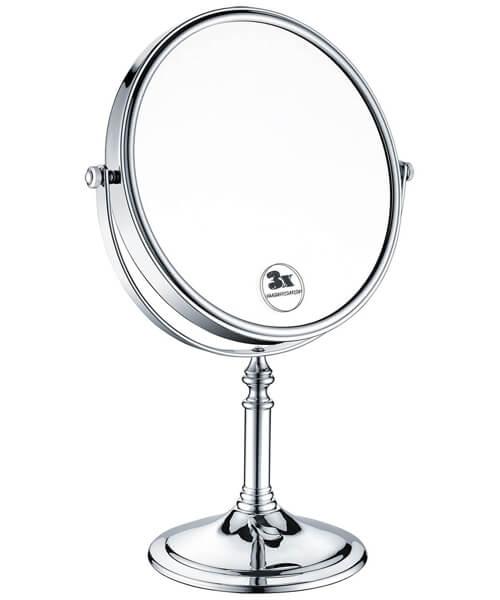 Bristan 8 Inch Free Standing Round Mirror