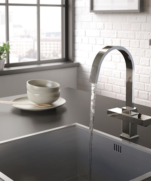 Bristan Chocolate Kitchen Sink Mixer Tap With EasyFit Base