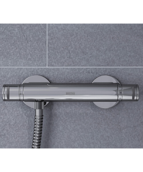 Additional image of Bristan Aristan Thermostatic Bar Shower Valve With Handset