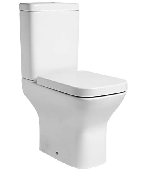 Tavistock Structure Comfort Height Open Back Close Coupled Toilet With Cistern And Soft Close Seat