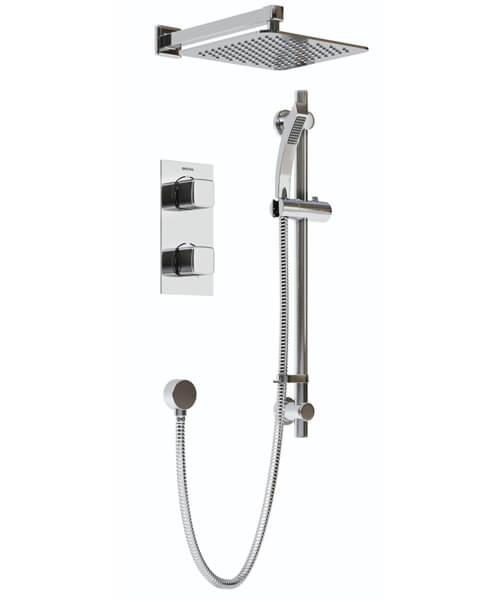 Bristan Cobalt Recessed Dual Control Shower Pack