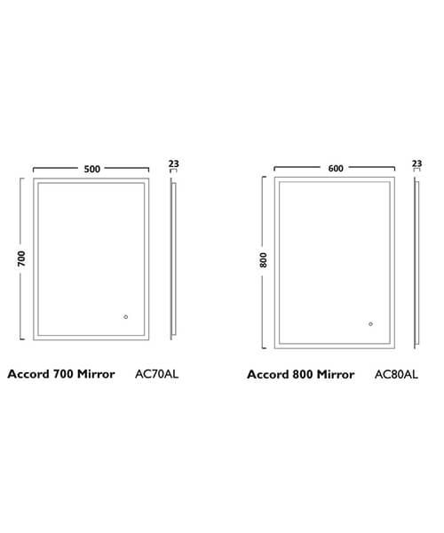 Technical drawing 55303 / AC70AL