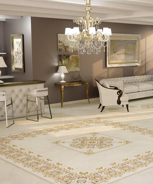 Dune Megalos Cremona Deco 60 x 60cm Ceramic Floor And Wall Tiles