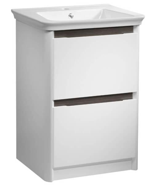 Additional image of Tavistock Equate 600mm Gloss White Floor Mounted Vanity Unit