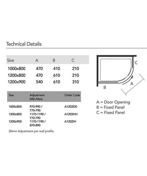 Technical drawing 55322 / A1202D0