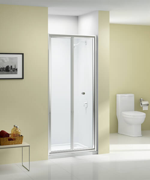 Merlyn Ionic Source 4mm Glass Bi-Fold Door 700mm Wide