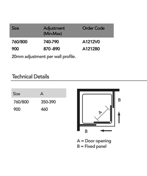 Technical drawing 55325 / A1212V0