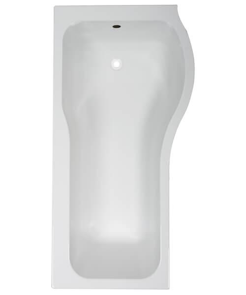 Additional image of Frontline Luxury P 1500 x 700mm Shower Tungstenite Bath