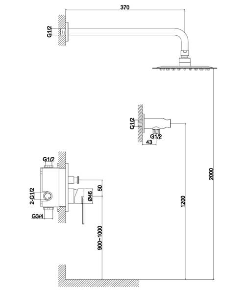 Technical drawing 60003 / S909-2101