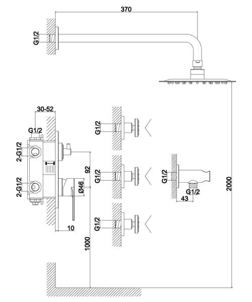 Technical drawing 60004 / S909-2001
