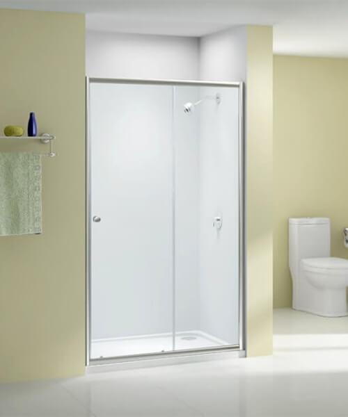Merlyn Ionic Source 6mm Glass Sliding Shower Door 1000mm Wide