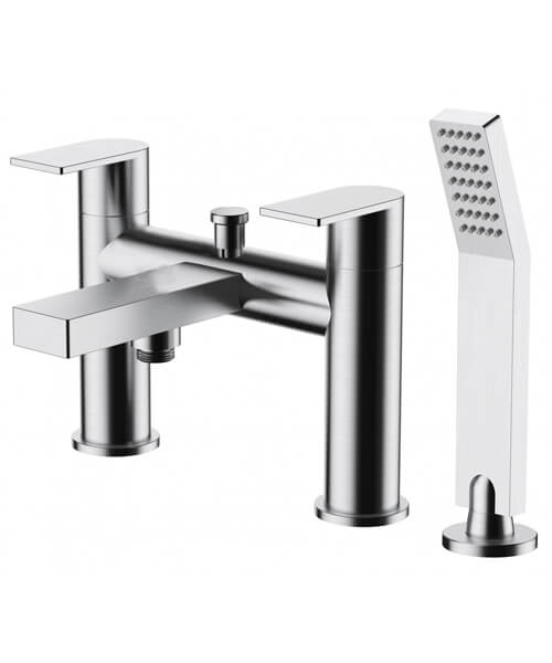 Frontline Aquaflow Edition Strand Bath Shower Mixer Tap With Kit