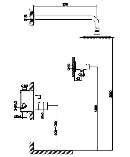 Technical drawing 60013 / S910-2101
