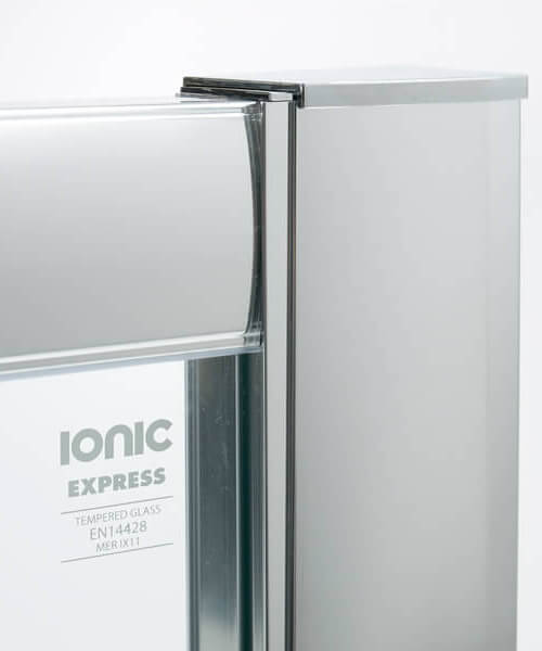 Alternate image of Merlyn Ionic Express Double Door Quadrant Enclosure 800 x 800mm