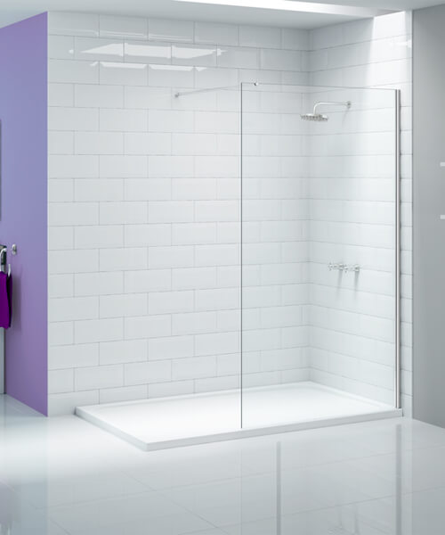 Merlyn Ionic Showerwall Glass Panel - Avilable With Choice Of Many Combinations