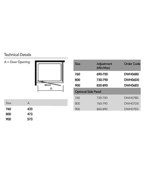 Technical drawing 57637 / DWH06B0