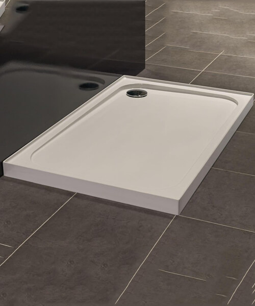 Merlyn Ionic UpStand 900 x 760mm Rectangular Shower Tray