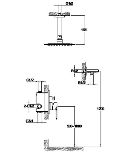 Technical drawing 60028 / S860-2102