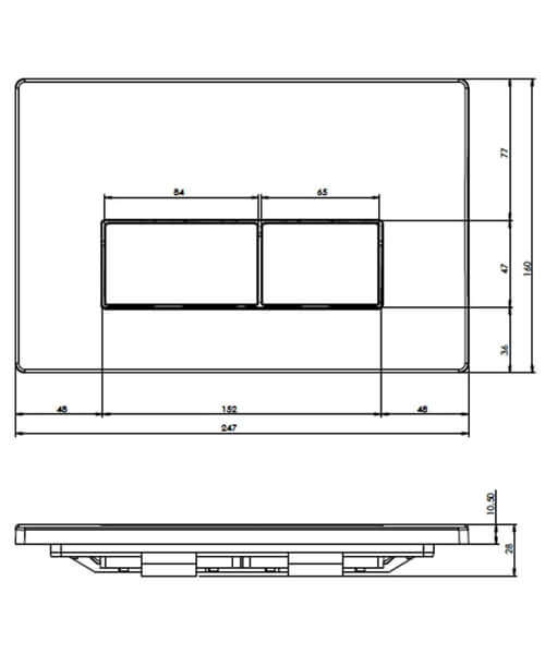 Technical drawing 54978 / FP161