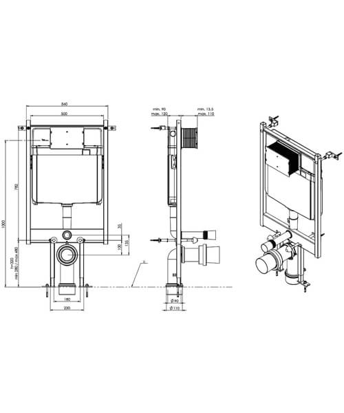 Technical drawing 54982 / FL2026