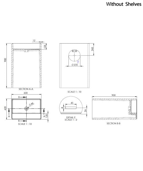 Technical drawing 58520 / SI855833