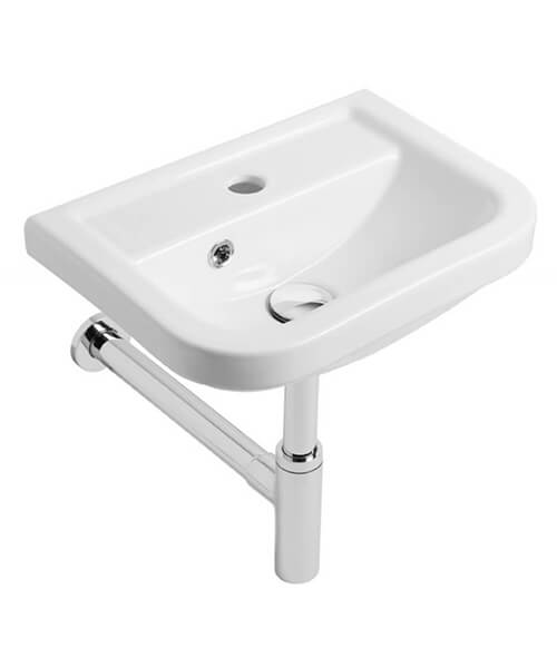 Tavistock Node 425mm Wall Hung Cloakroom Basin With 1 Tap Hole