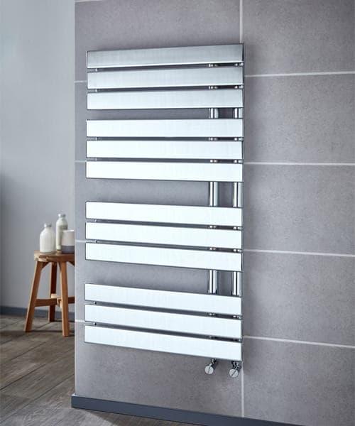 Frontline Garda 550 x 1080mm Designer Towel Rail Anthracite