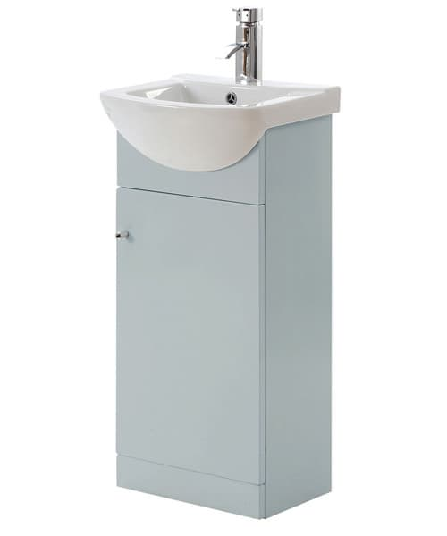 Additional image of Frontline Aquapure 450mm Cloakroom Unit With Basin