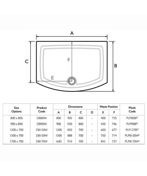 Technical drawing 25122 / DB80W