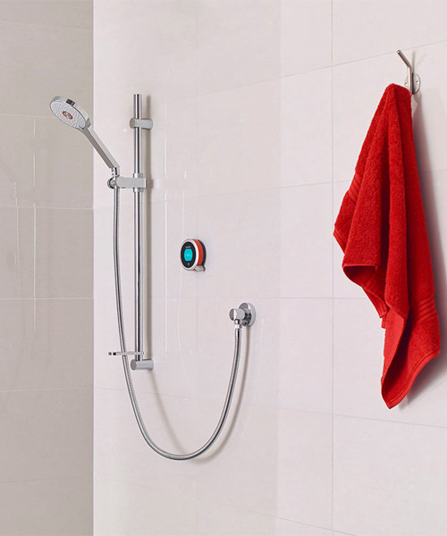 Aqualisa Q Smart Mixer Shower With Adjustable Head - HP Or Combi