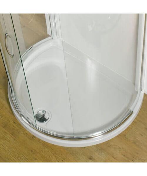 Kudos Concept Peninsula Shower Tray 1200 x 910mm