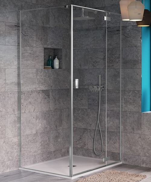 Crosswater Svelte Hinged Shower Door 800mm