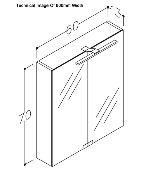 Technical drawing 60101 / COCMC60GO