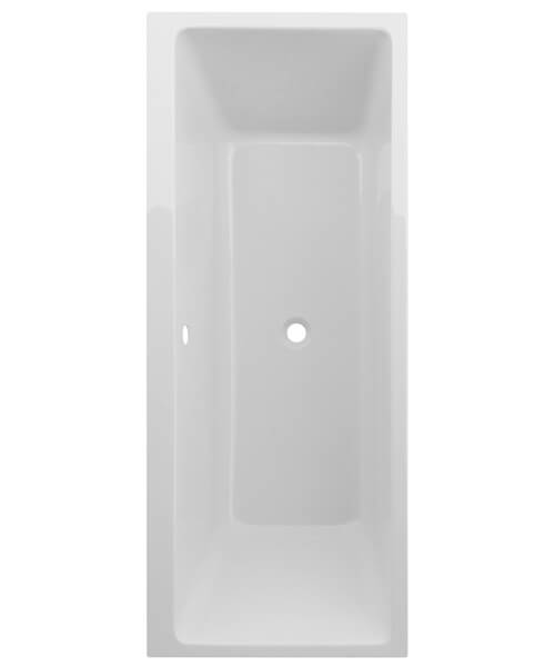 Frontline Chic2 1700 x 700mm Square Straight Double Ended Bath